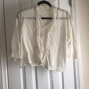Beautiful embroidered Vintage blouse